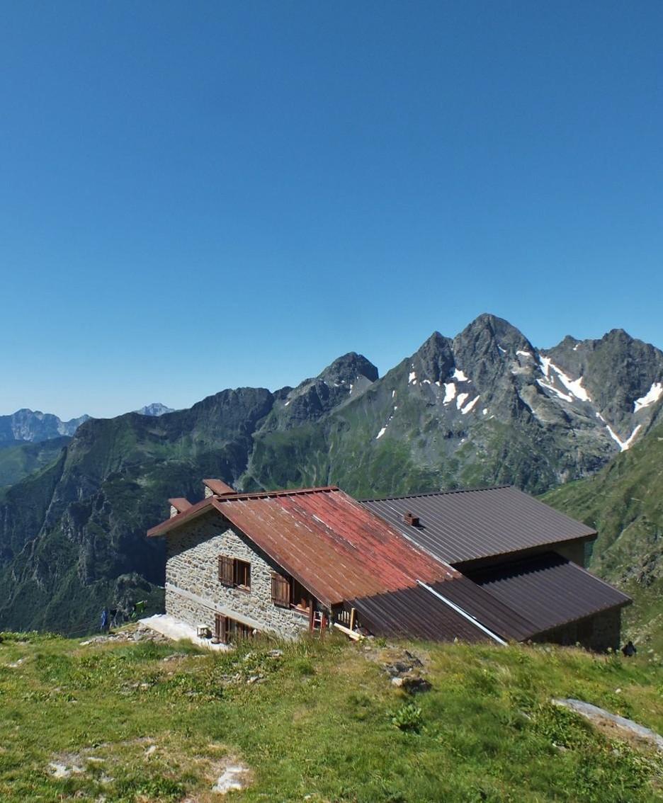 Il rifugio Brunone.