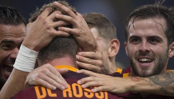 Serie A: anticipo 8/a, Roma-Empoli 3-1