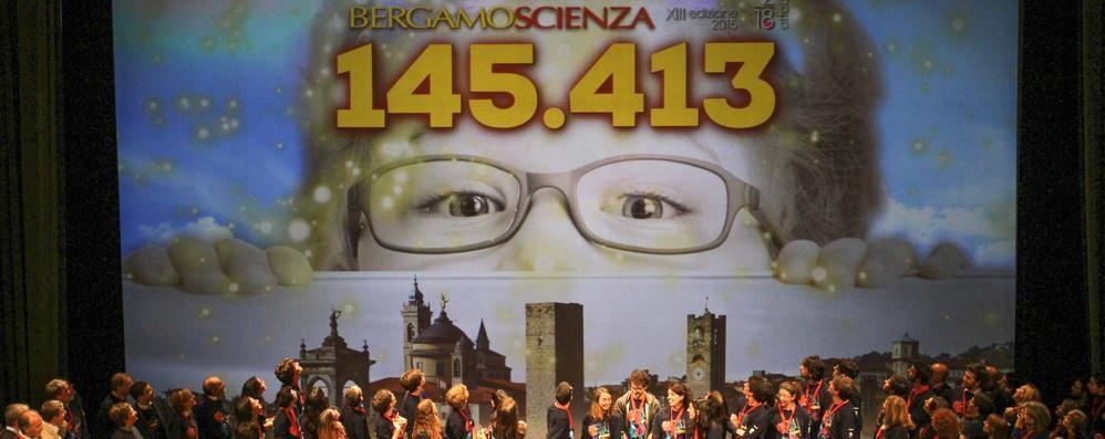 BergamoScienza: 145mila presenze Ora nasce un centro permanente