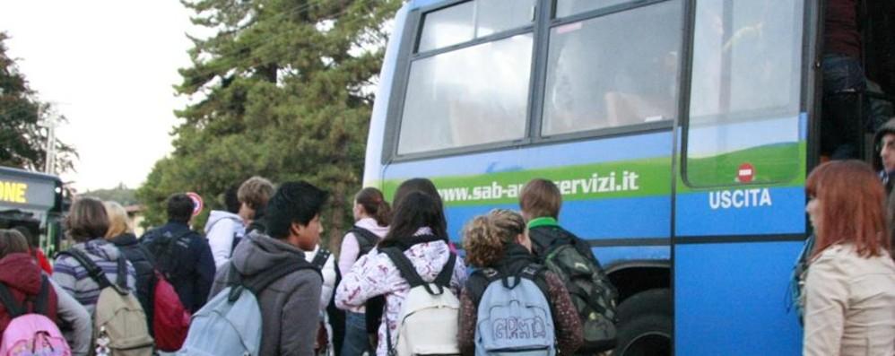 San Paolo d'Argon-Bergamo In bus solo uno su 20 ce la fa