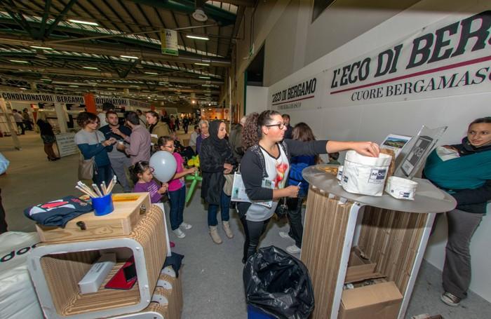 Stand de L'Eco cafè alla fiera campionaria di Bergamo 2014