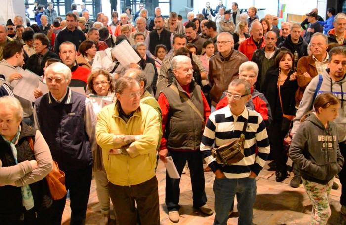 Folla alla fiera campionaria di Bergamo 2014