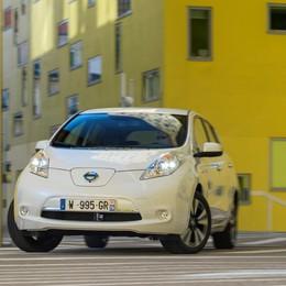 Leaf, l'elettrica Nissan L'autonomia a 250 km