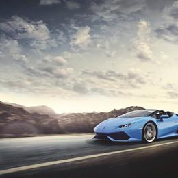 Nuova Lamborghini il «mostro» spider