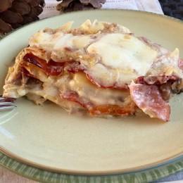 Voglia di autunno e lasagne Eccole con speck e porcini