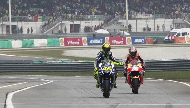 Moto, Rossi partirà ultimo a Valencia