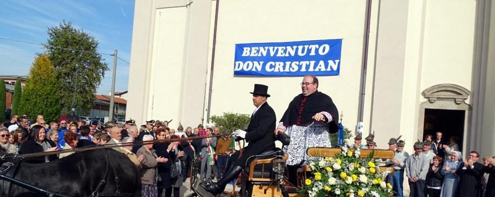Grande festa a Grignano e Rigosa per l'arrivo dei due nuovi parroci