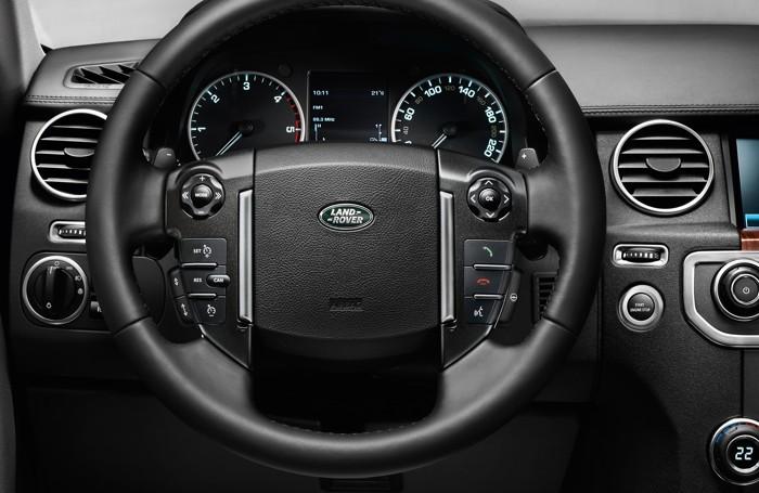 Il cruscotto del Land Rover Discovery