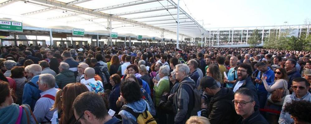 Siete stati a vedere l'Expo? Avete fatto quasi 3 ore di fila...
