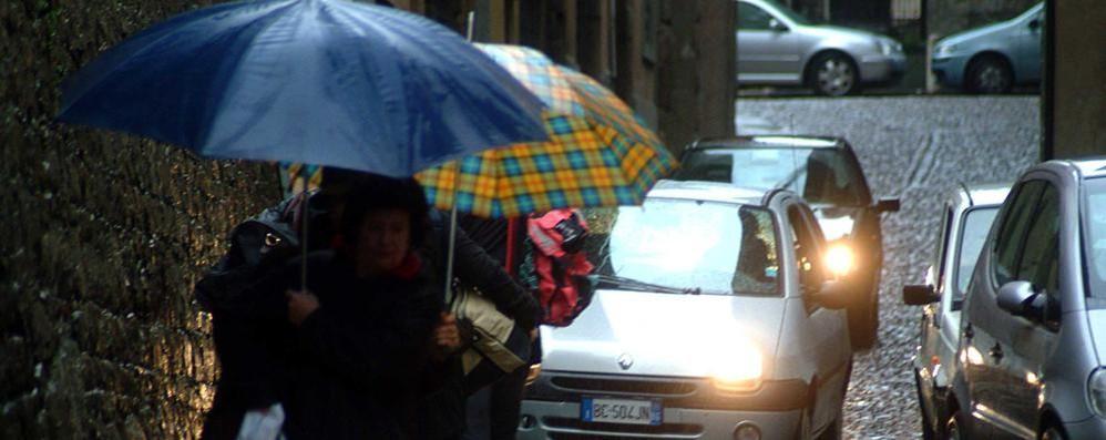 Da martedì sera rischio di forti temporali La Regione allerta la protezione civile