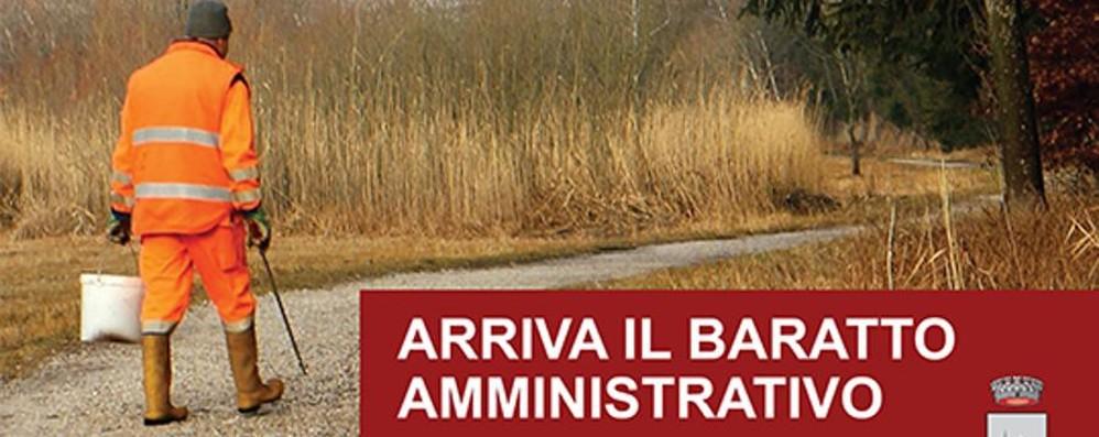 Paghi le tasse con ore di lavoro comunale A Nembro c'è il «baratto amministrativo»