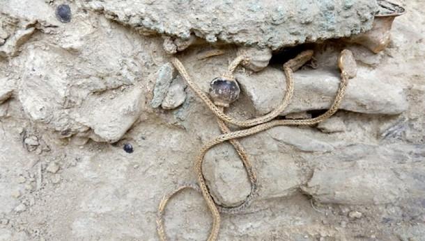 Scoperta tomba reale a Pylos