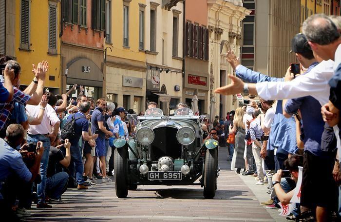 La Mille Miglia 2015 a Bergamo