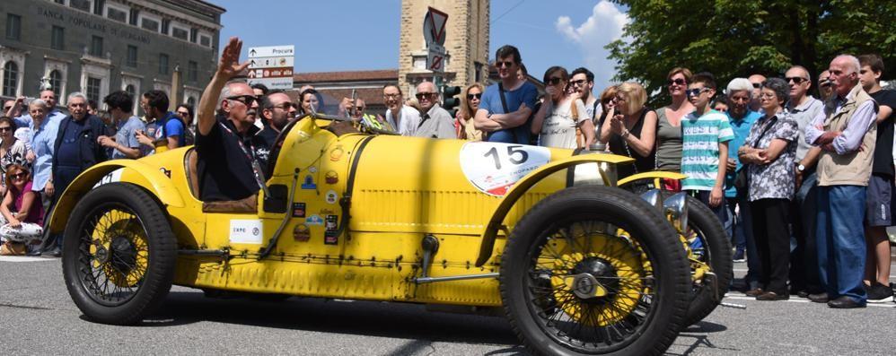La Mille Miglia torna a rombare - Video Tappa a Bergamo: ecco il tracciato