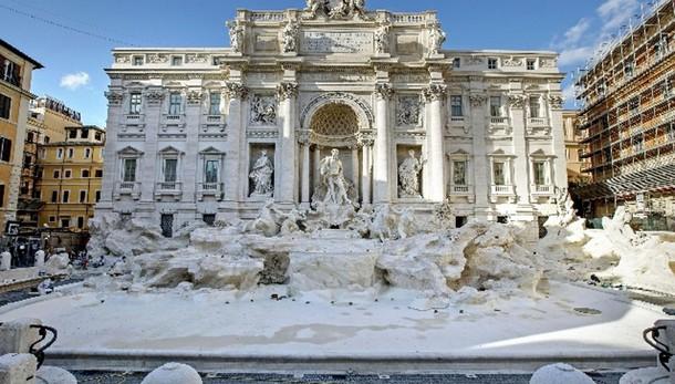 Il 3 novembre riapre la Fontana di Trevi