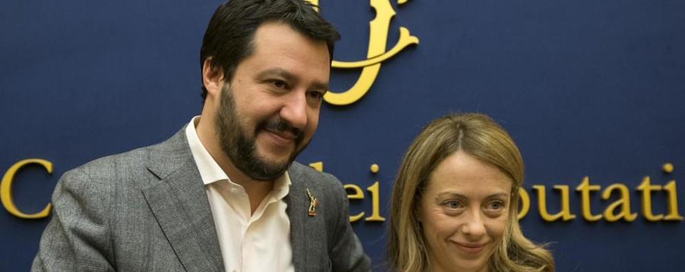 Il pensionato di Vaprio Salvini e la Meloni