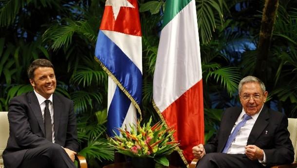 Renzi rientrato dal Sud America
