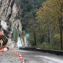 Strada chiusa per lavori  Foppolo e Valleve isolati