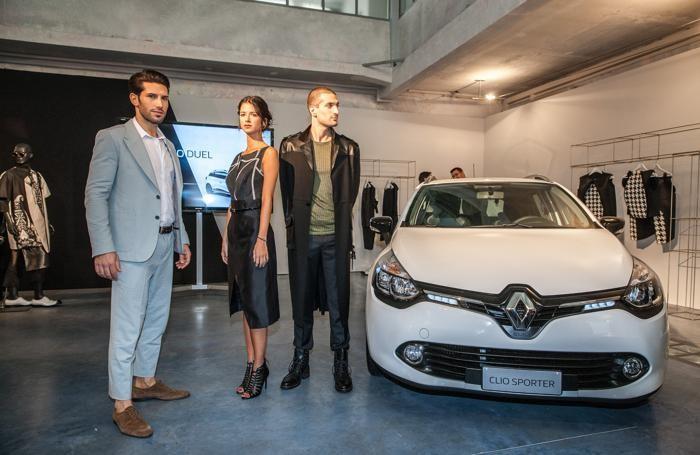 La Renault Clio abbraccia la moda