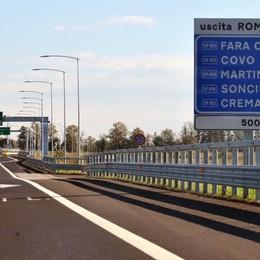 Brebemi, via libera al finanziamento Dalla Regione arrivano 60 milioni