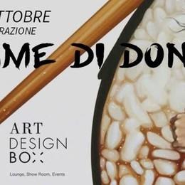 «Fame di donna»: mostra di Curzi All'Art Design di Rho per un mese