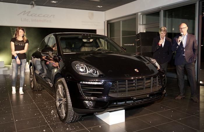 La Porsche Macan