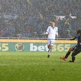 Il gol del 2-1 di Gomez