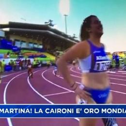 Martina Caironi nella storia: è oro mondiale nei 100 metri