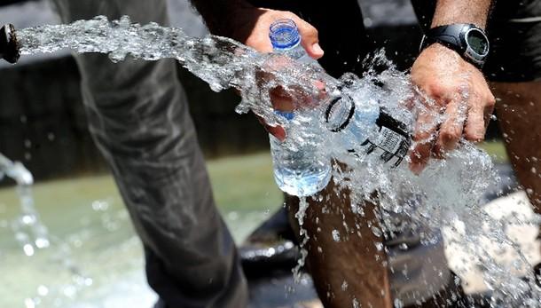 Acqua in alcuni quartieri a Messina