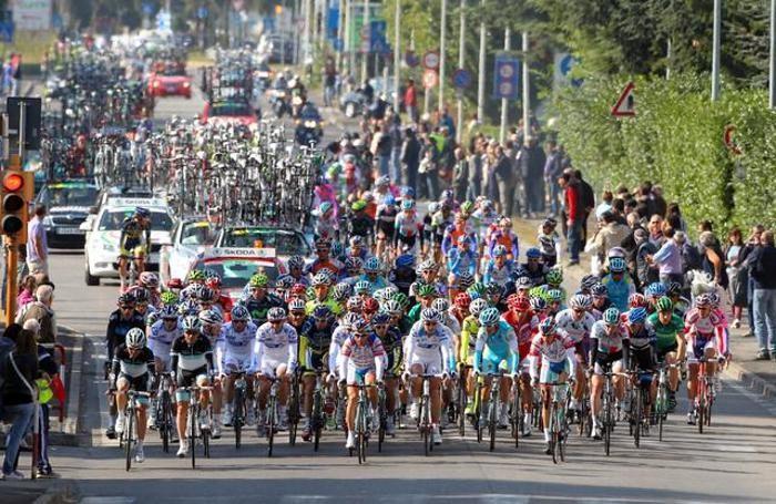 Una delle passate edizioni del Giro di Lombardia