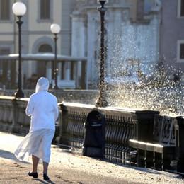 Pioggia e trombe d'aria a Livorno, danni