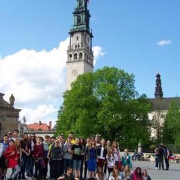Studenti polacchi a Bergamo Gemellaggio nel nome di Nullo