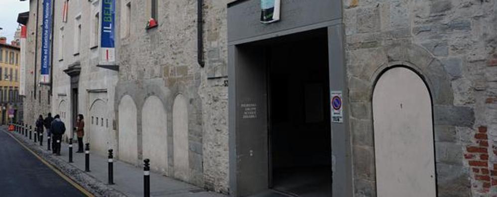 Gamec, la Collezione permanente rimane chiusa il 6 e 7 ottobre