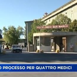 Chiesto il processo per quattro medici del policlinico San Marco di Zingonia