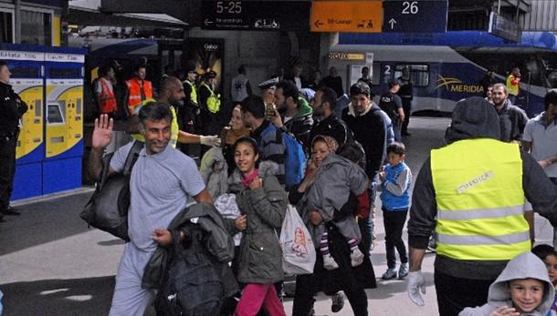 A settembre 164mila migranti in Germani