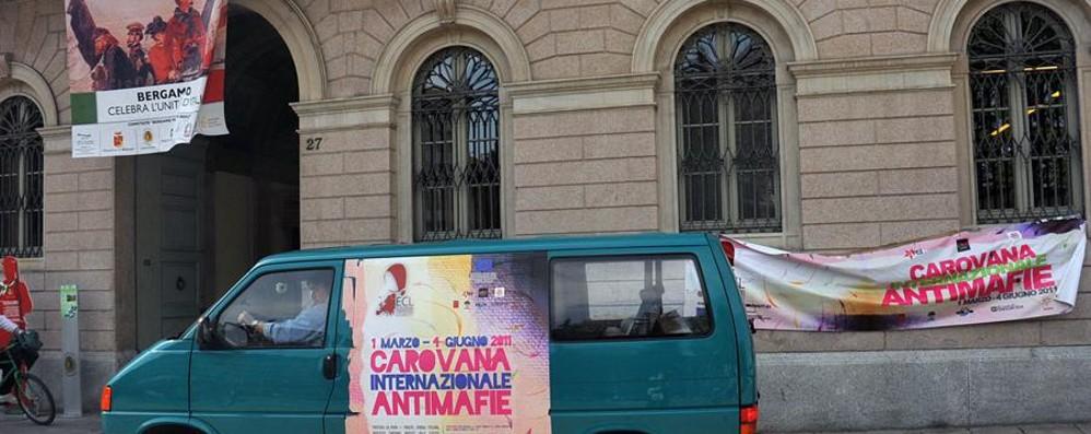 La Carovana Antimafie a Bergamo Giovedì incontro con Gori e Rossi