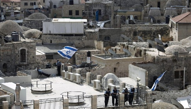 Israeliano pugnalato in colonia