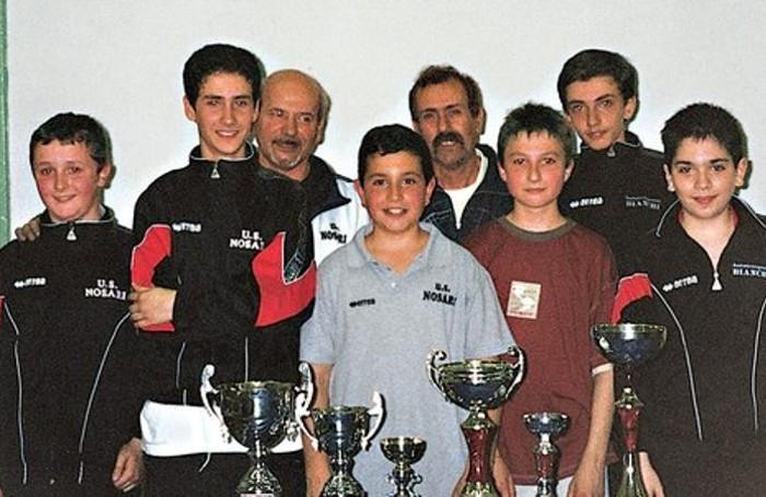 Unione Sportiva Nosari: il tennis da tavolo