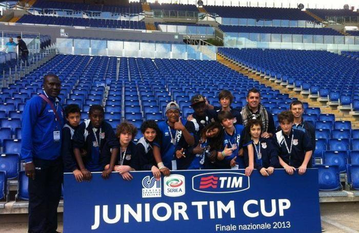 Unione Sportiva Nosari: i ragazzi della Junior Tim Cup a Roma