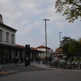 Motorini in zona stazione