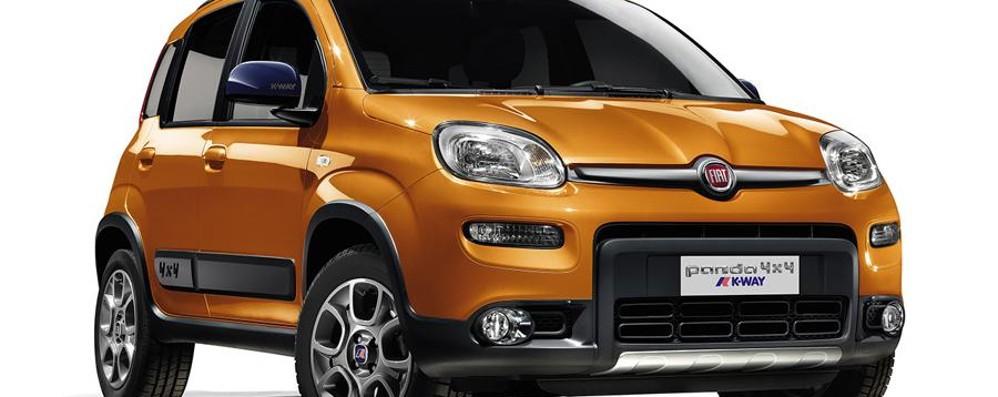 Fiat Panda 4x4 K-Way pronta per l'inverno