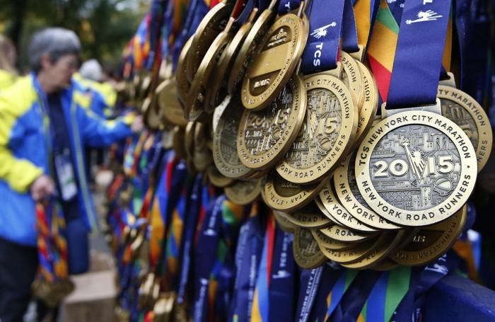 Le medaglie per tutti i partecipanti
