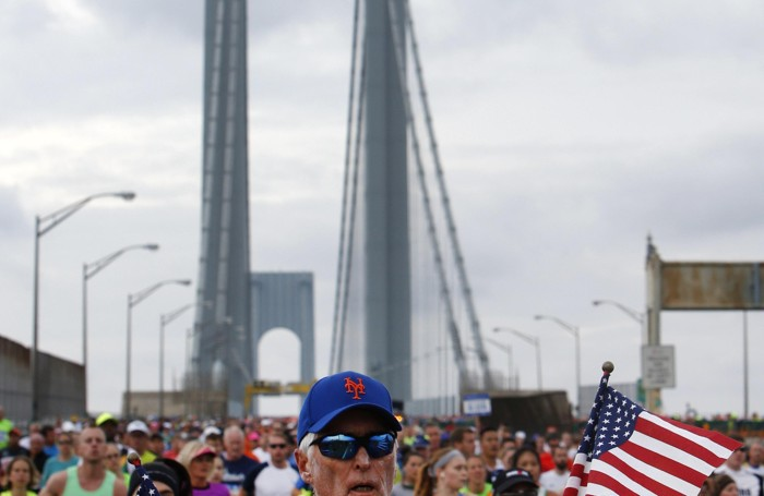 Spirito Usa alla maratona di New York