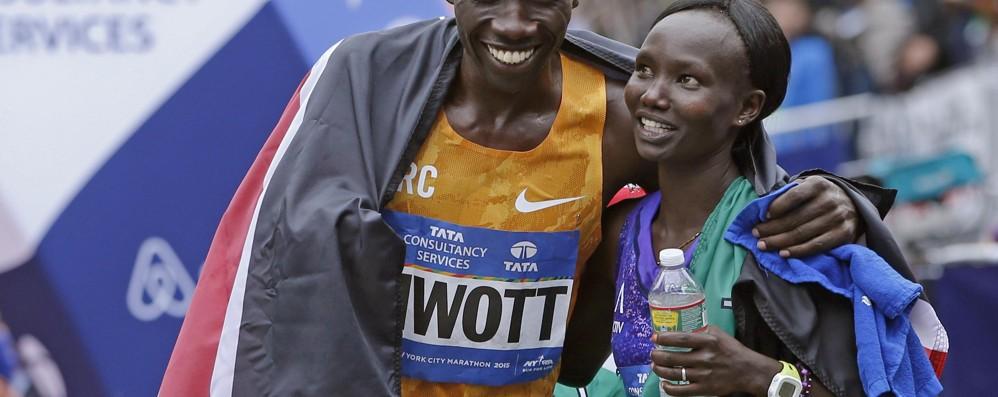 Maratona New York: Kenya in trionfo Il re è Biwott, la regina Keitany - Foto