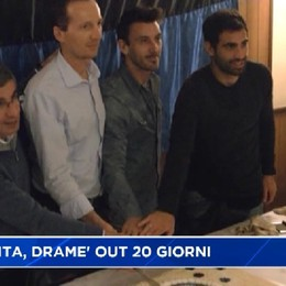 Atalanta, Dramè out 20 giorni