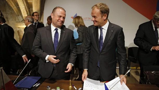 Accordi vertice Valletta all'unanimità