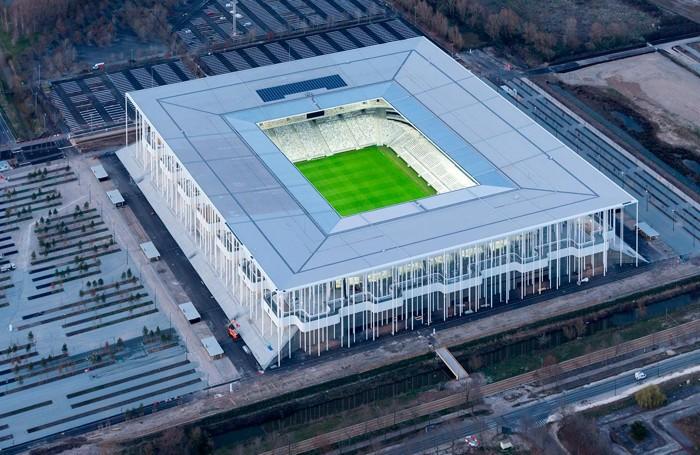 Il nuovo stadio di Bordeaux