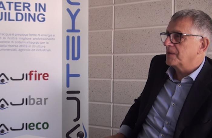 Attilio Conca, uno dei quattro cosi fondatori della startup  Majitekno