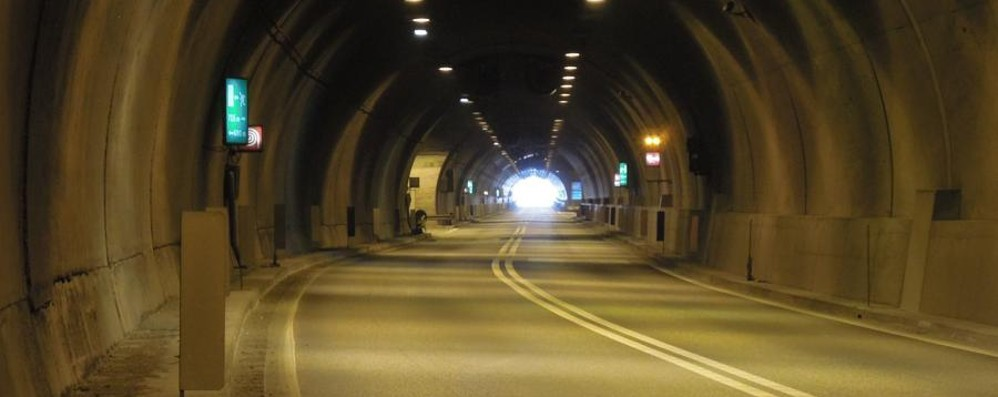 Montenegrone: lavori finiti in anticipo Stanotte la galleria resterà aperta