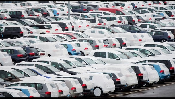 Vw: immatricolazioni auto -5,3% ottobre